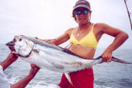 Lady with Albacore Tuna