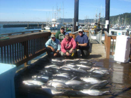 Oregon Tuna Fishing Charters